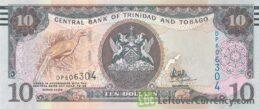 10 Trinidad and Tobago Dollars banknote