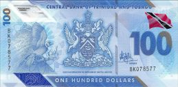 100 Trinidad and Tobago Dollars banknote (polymer 2019 series)