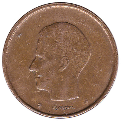 20 Belgian Francs coin (Baudouin)