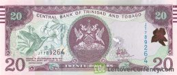 20 Trinidad and Tobago Dollars banknote