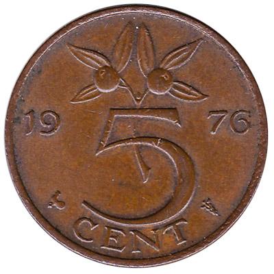 5 cent coin (Juliana)
