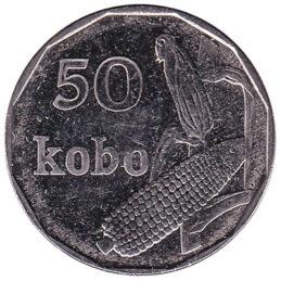 50 Kobo coin Nigeria
