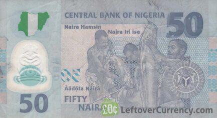 50 Nigerian Naira banknote (People of Nigeria)