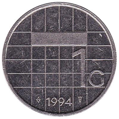 1 gulden coin (Beatrix)