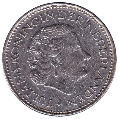 1 gulden coin (Juliana)