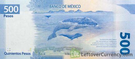 500 Mexican Pesos banknote (Benito Juárez)