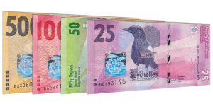 current Seychellois Rupee banknotes