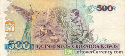 500 Cruzados Novos banknote (Augusto Ruschi)