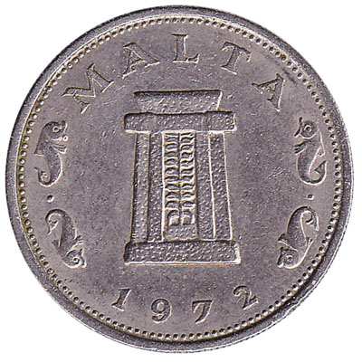 5 cents coin Malta (large type)