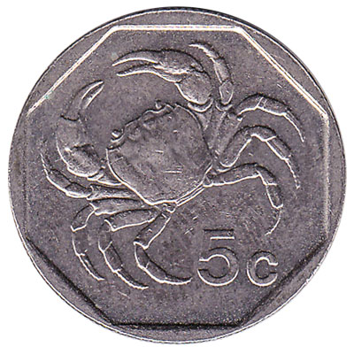 5 cents coin Malta