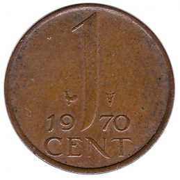 1 cent coin (Juliana)