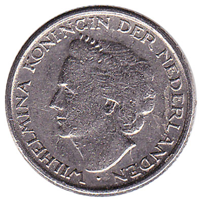 10 cent coin (Wilhelmina)