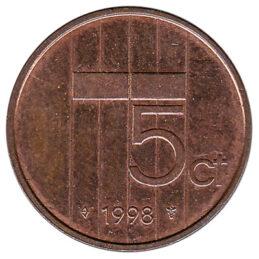 5 cent coin (Beatrix)