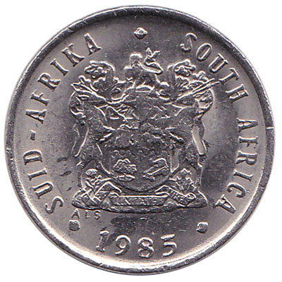 5 cents coin South Africa (nickel)
