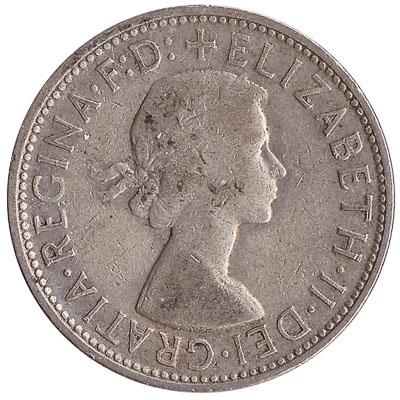 Australian florin coin