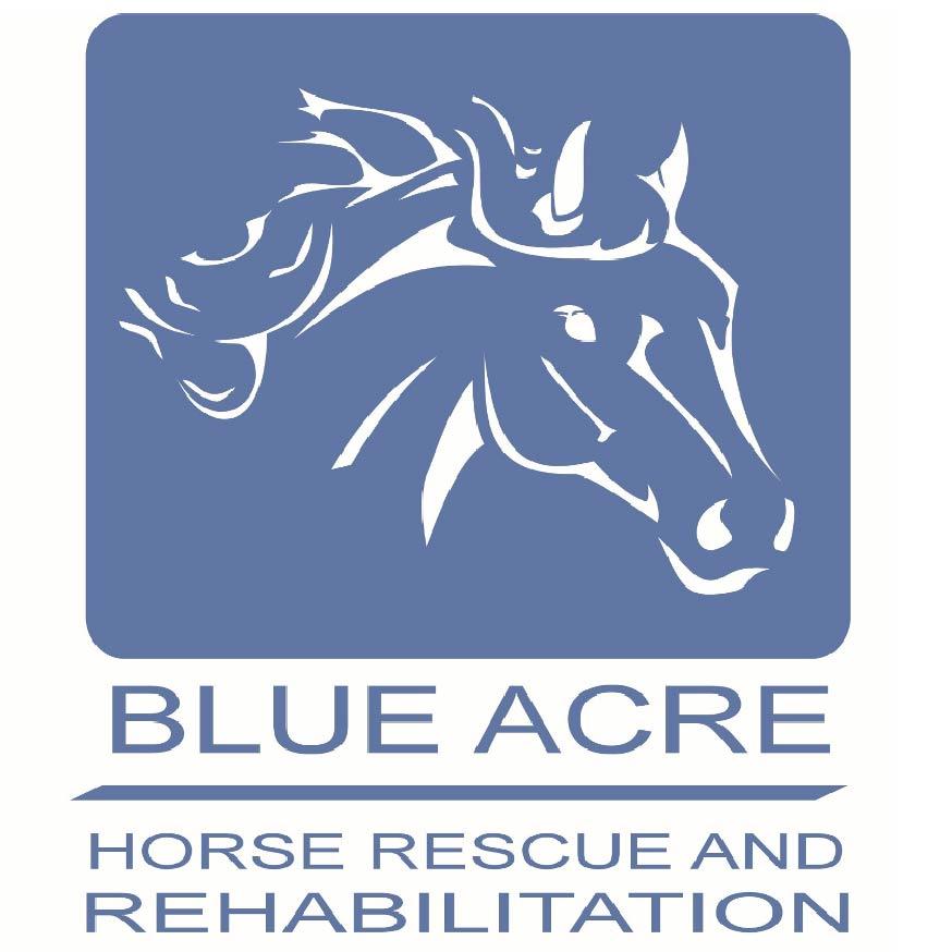 Blue Acre Horse Rescue and Rehabilitation Centre charity logo