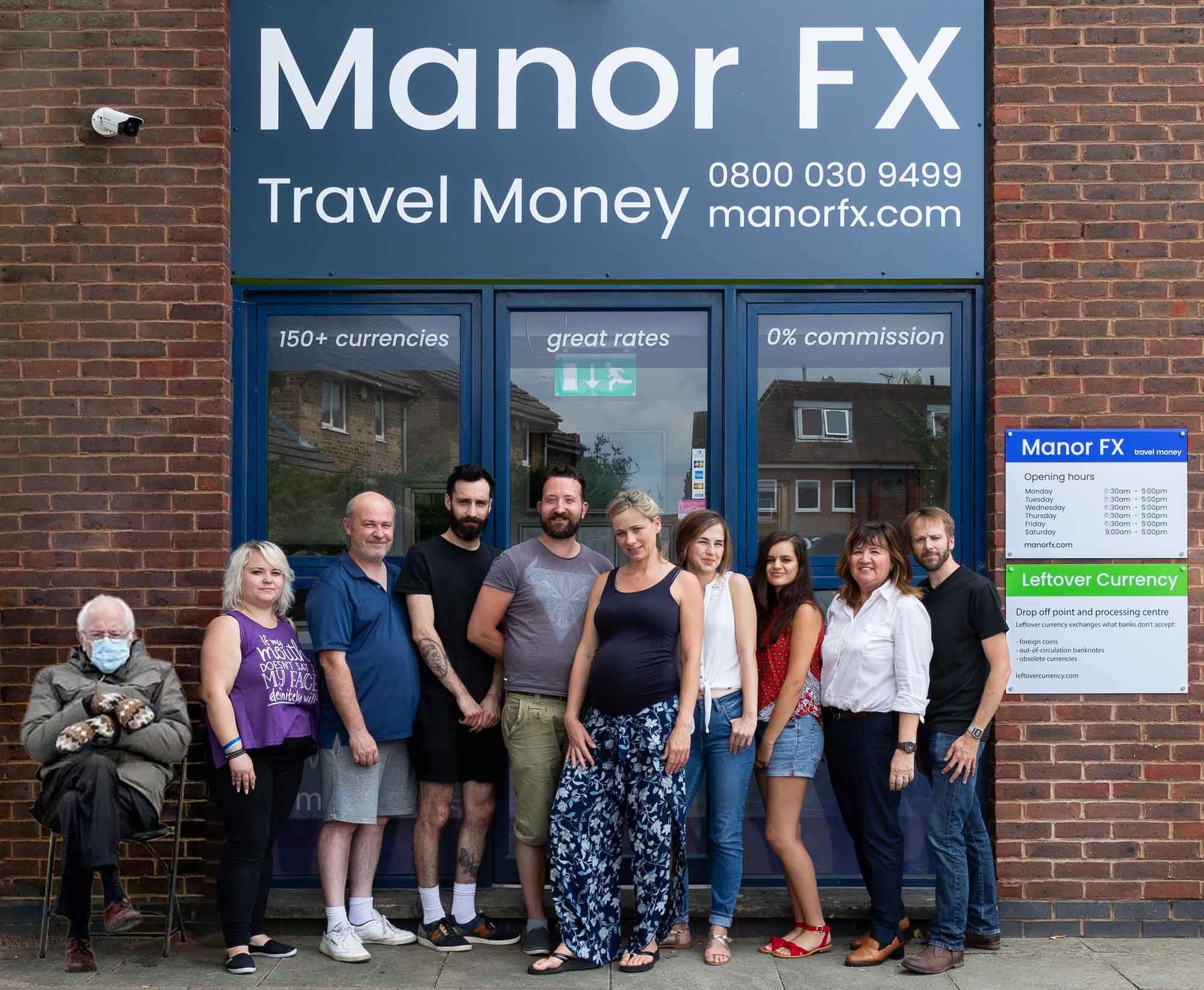 Leftover Currency and Manor FX team